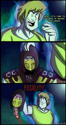 Shaggy - Mortal Kombat 11 by Rocner