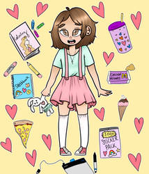 More ddlg art by Bunny-does-art