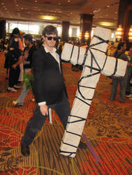 A-kon '12 - Wolfwood by TexConChaser