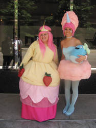Akon '12 - Bubblgum and Cotton Candy Princess by TexConChaser