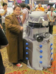 A-kon '12 - Doctor Who and Dalek by TexConChaser