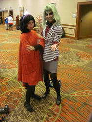 Akon  '12 - Beetlejuice and Lydia by TexConChaser