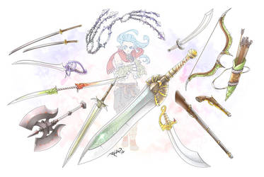 TRPG: Weapons by Rathaelos