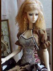 Jeline - brown victorian by Lelahel-Clothes