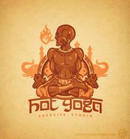 Hot Yoga by Winter-artwork