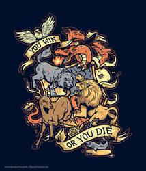 Win or Die by Winter-artwork