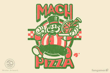 Mach Pizza by Winter-artwork