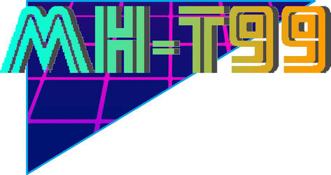 MH-T99 Synthwave Logo 2 by MarkHarrierT99