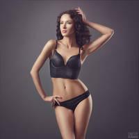 Black cat 3 by DmitryElizarov