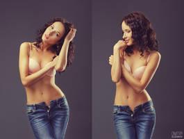 Jeans double by DmitryElizarov