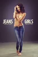 Jeans and girls, night by DmitryElizarov