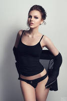 Babe in black #2 by DmitryElizarov