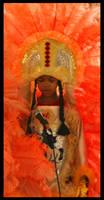 Mardi Gras Indian by SZenz