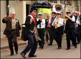 Second Line Coming by SZenz