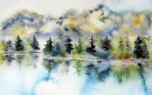 Une aquarelle faite avec amour by BlueCaroline
