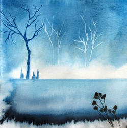 haunted waters by BlueCaroline