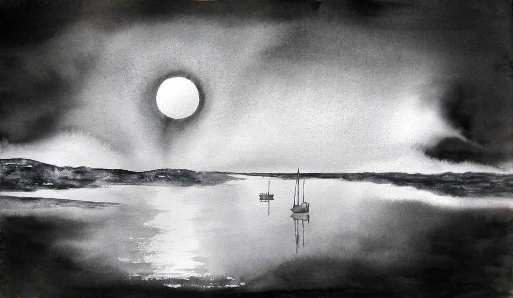 Deep of the night by BlueCaroline