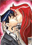 Sarah and Michael-sketchcard by bukittyan