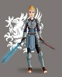 Warden Faylen Mahariel by bukittyan