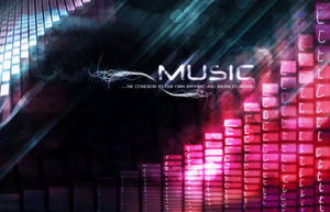 MUSIC...wallpaper by verzerk