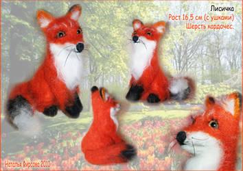 Fox by Nataly-firsova