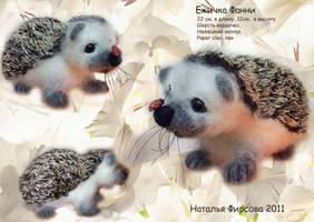 Hedgehog-Fanny by Nataly-firsova