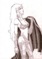 Female Saint by Kazuny
