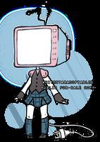 [OPEN] TV Head Adopt 350 POINTS/3.40 PAYPAL by WhiteStarAdoptables