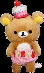 Rilakkuma Cupcake Plush by bubupoodle