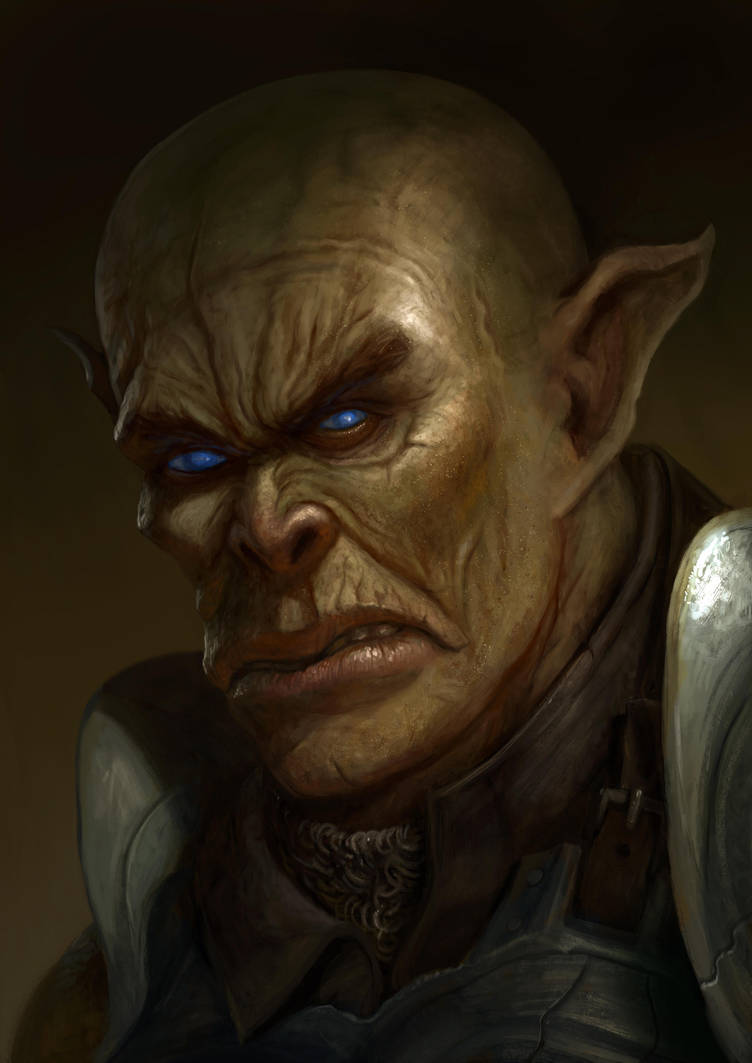 Orc by benwinfield