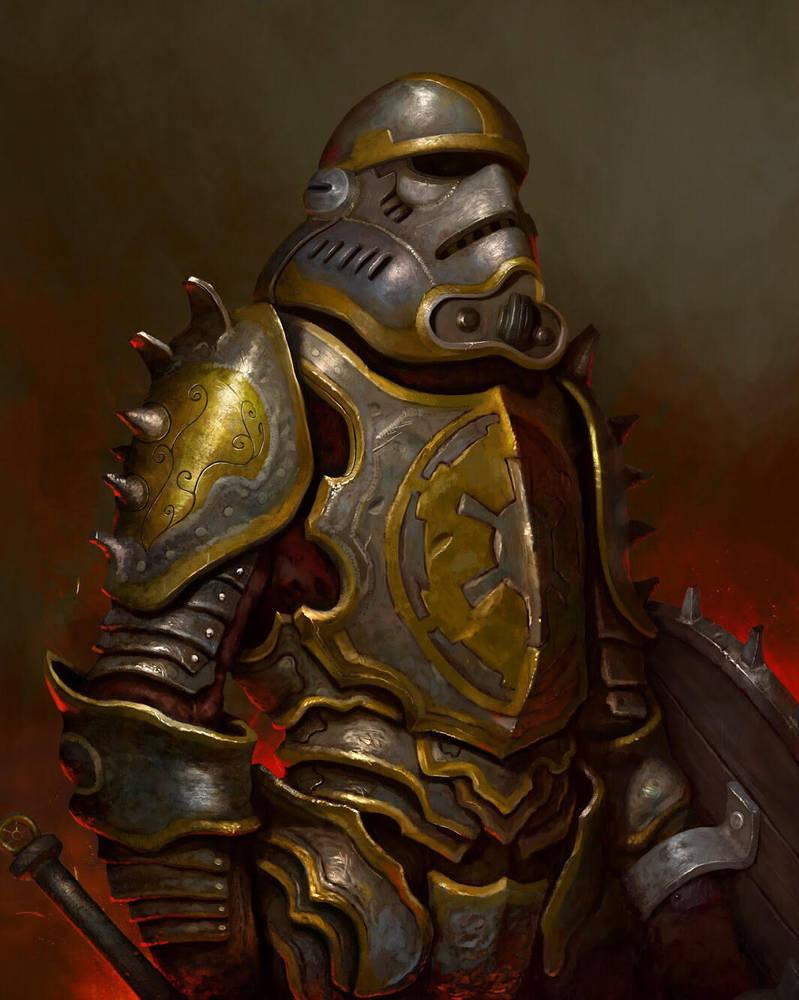 Medieval Stormtrooper  by benwinfield