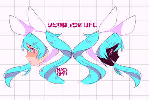 Lonely Ufo by Madomii