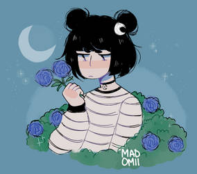 I Cry In My Garden Sometimes by Madomii