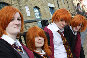 The Weasley Family by mistergleeson
