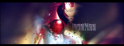 Iron-Man signature by Cheas