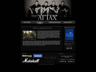 Attax band web by Cheas