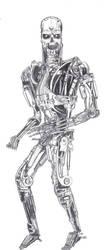 Terminator Skeleton by residentevilrulz