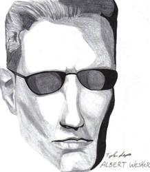 Albert Wesker....again by residentevilrulz