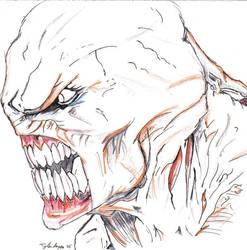 Nemesis Face by residentevilrulz