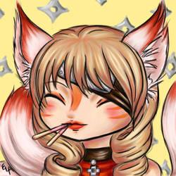 The Foxy Pocky Ninja by Yunsildin