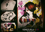 Venezuela CRY #SOS #PrayForVenezuela by SkullBoyThe