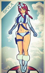 Skyla - Pokemon by MagsDigital
