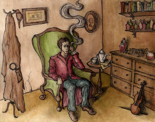 Sherlock Holmes by Brandon-Schaefer