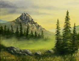 Misty Morning by Brandon-Schaefer