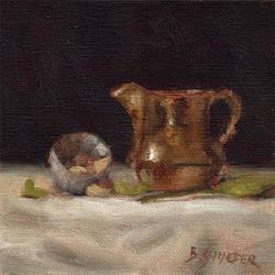 Copper Pitcher - Still Life by Brandon-Schaefer