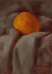 Orange in Cloth by Brandon-Schaefer