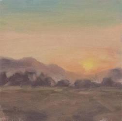 Plein Air - Sunset by Brandon-Schaefer