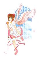 CCS- Sakura Feathers by baozi-kun