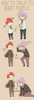 how to talk to short people -knb ver.- by s-haa