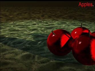 Apples. by cardiinaloleg
